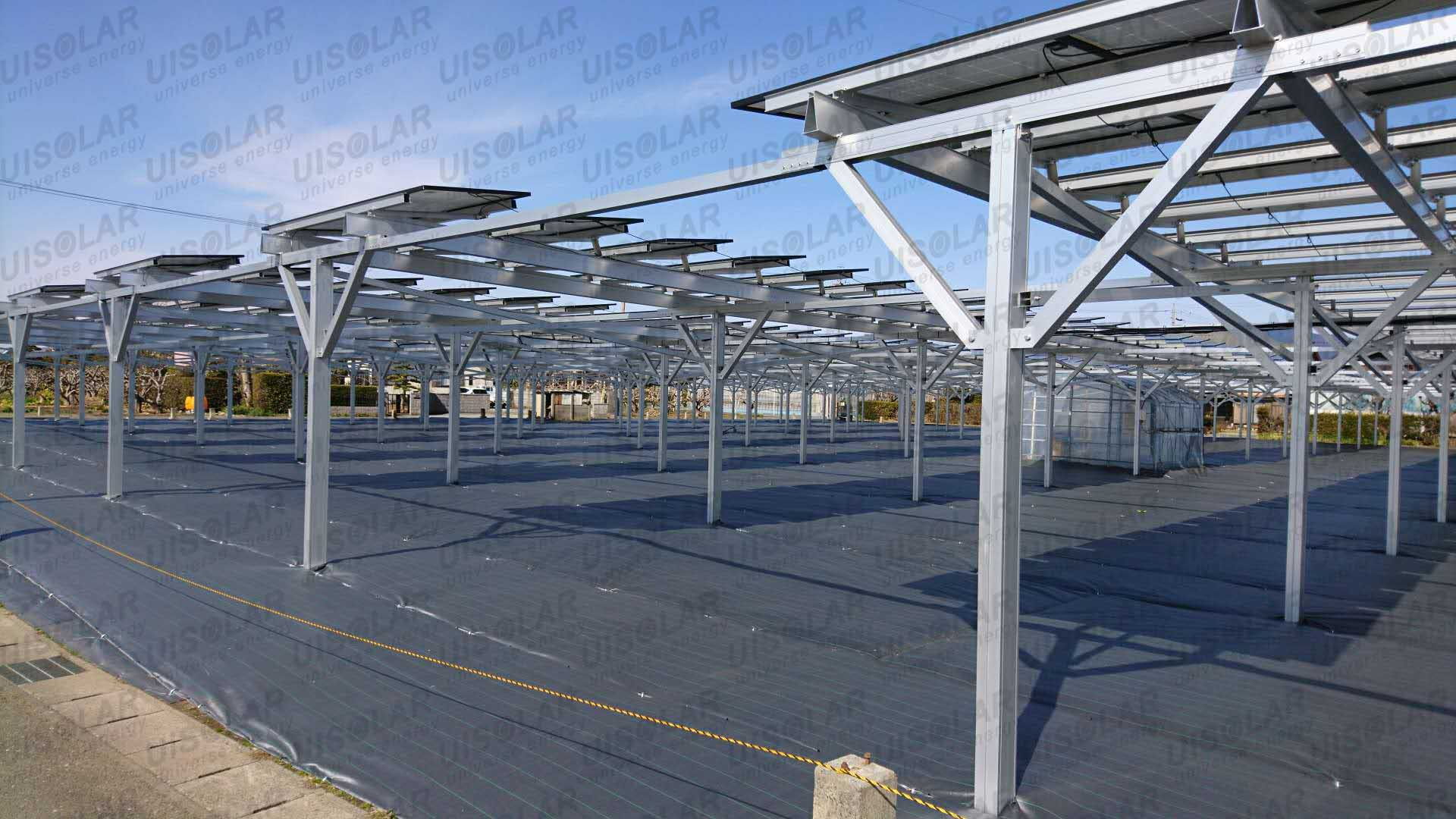 500KW solar farm project