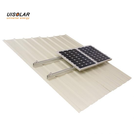 Solar panel roof mount system