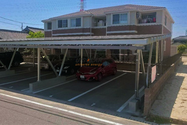 uisolar solar carport project in japan